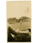 Original Bobby Jones Photo on 7th Green at 1926 Open Championship - Royal Lytham & St. Annes