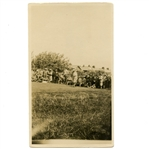 Original Bobby Jones Tee Off Photo at 1926 Open Championship - Royal Lytham & St. Annes