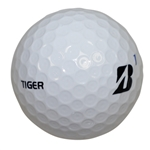 Tiger Woods Personal Bridgestone Tour BXS Logo 1 Golf Ball