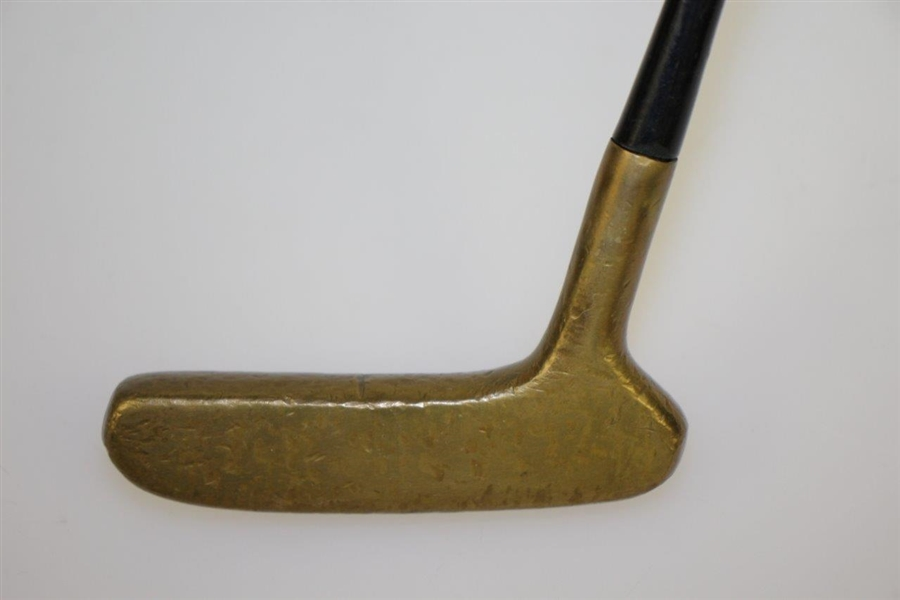 Sam Snead Personal 1965 Grand Masters Collection Side-Saddle Putter with Signed Letter JSA #EE96333