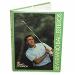 Seve Ballesteros Signed Book Severiano Ballesteros with Author Signature JSA #EE96343