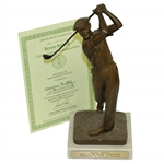 Byron Nelson Golfer of the Decade 1938-1947 Statue with Certificate