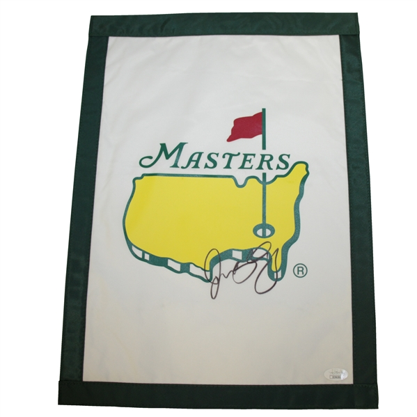 Rory McIlroy Signed Undated Masters Garden Flag JSA #EE96300