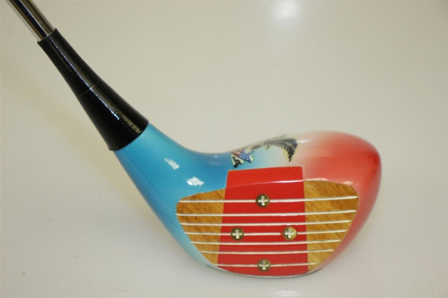 Ltd Ed Red, White, & Blue with Eagle '1776' Bicentennial Left Handed Driver - Excellent Condition