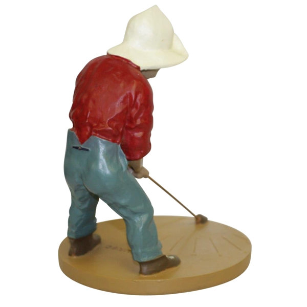 Pinehurst Putter Boy Sundial Putting Statue