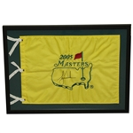 Tiger Woods Signed 2005 Masters Flag JSA ALOA