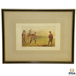 Golfing British Print by Joseph Kronheim And Co. - London