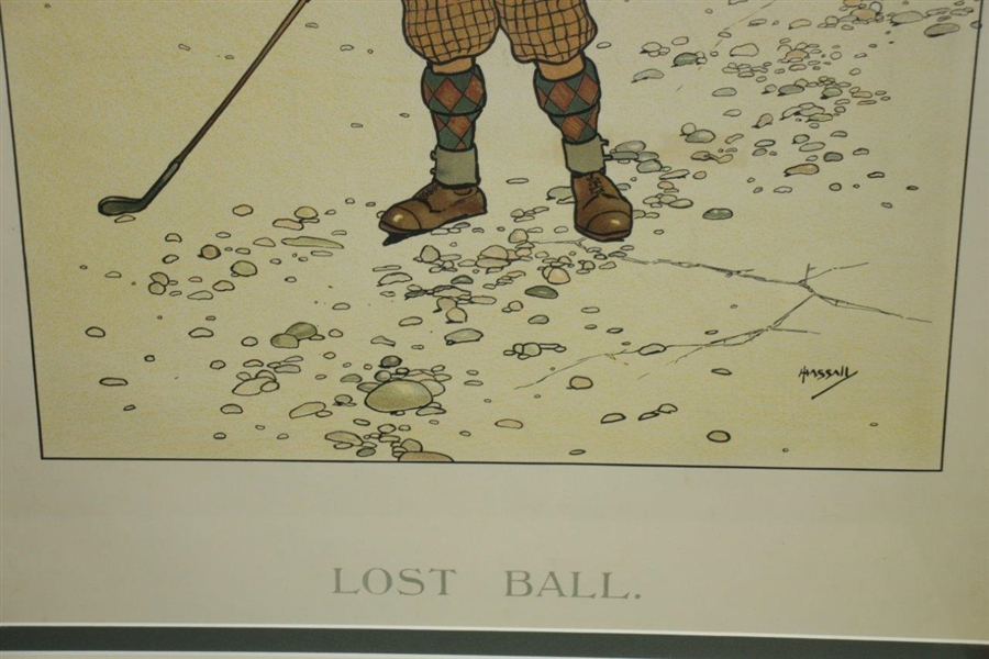 'Lost Ball' Print by Artist Hassaly