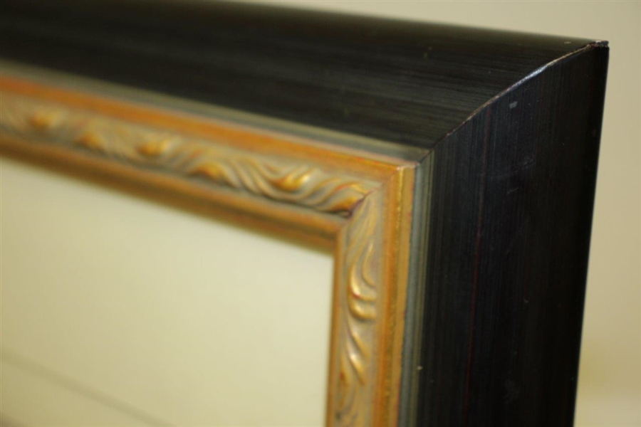 Early 1900's Lady Golfer 'The Outing' September Publication Poster