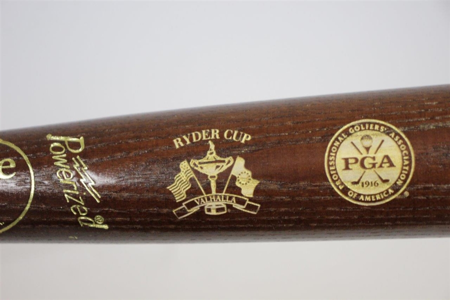 Ray Floyd's 2008 Valhalla Ryder Cup Team USA Louisville Slugger Wooden Bat