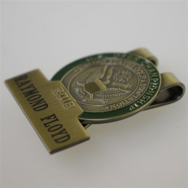 Ray Floyd's 2018 US Open at Shinnecock Hills Contestant Badge / Money Clip