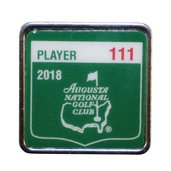 Ray Floyd's 2018 Masters Tournament Contestant Badge #111