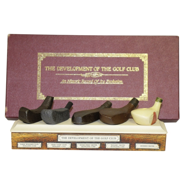 'The Development of the Golf Club' Presentation Display Piece
