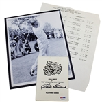 Sam Snead Signed Legends of Golf Players Guide with Photo & Pairing Sheet PSA/DNA #P34685