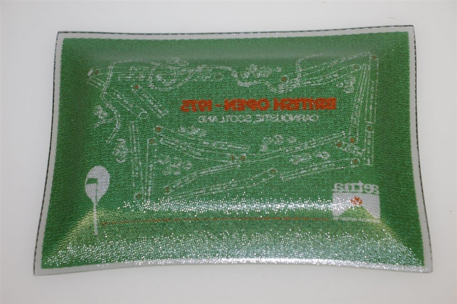 1975 Open Championship at Carnoustie Candy Dish - Tom Watson 1st Major Win