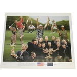 1999 Ryder Cup Limited Ed Victory at Brookline Artist Signed Print