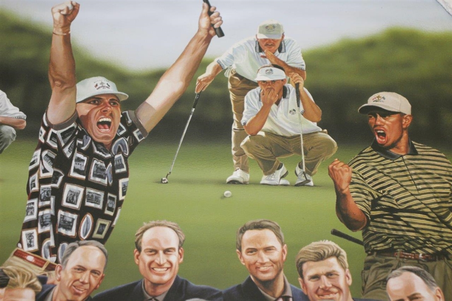 1999 Ryder Cup Limited Ed 'Victory at Brookline' Artist Signed Print