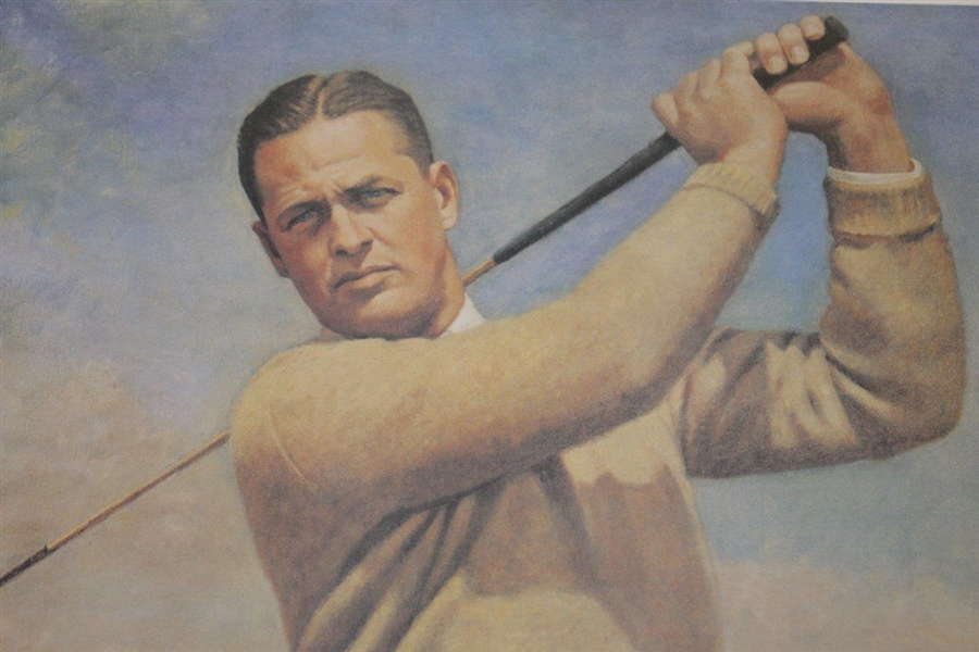 Bobby Jones Reproduction Print From Thomas Stephens' Original - USGA Ltd Ed
