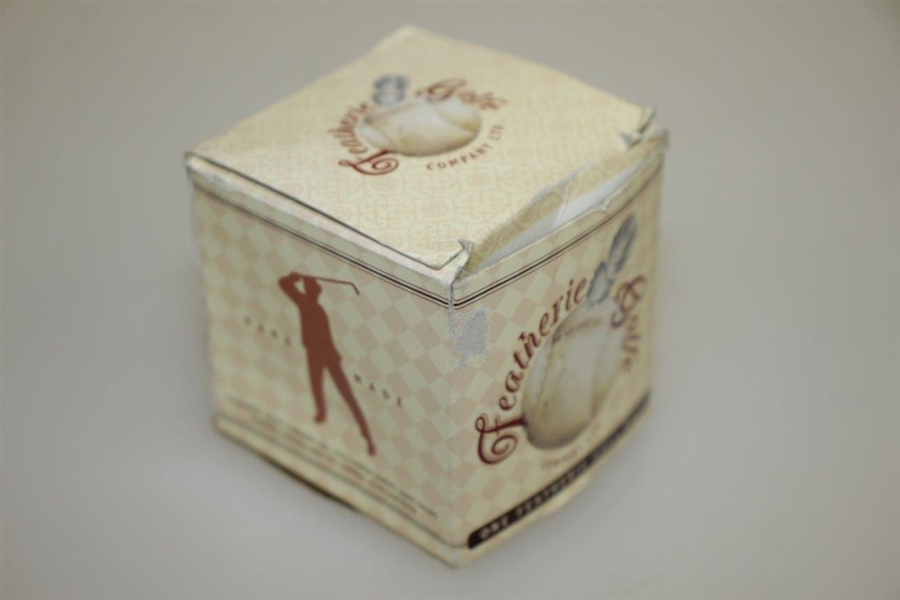 Featherie Ball Reproduction w/ Original Box