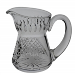 PGA Etched Cut Crystal Coffee Creamer Pitcher - Gift From PGA of America to Past President
