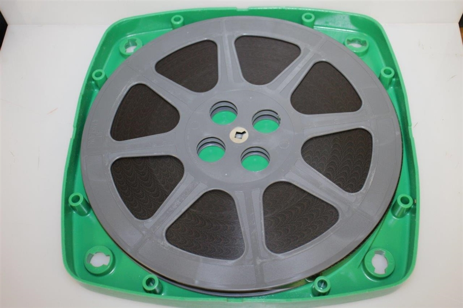 1974 & 1978 Cadillac Masters Highlight 16 mm Large Canister Film Reel - Gary Player Wins