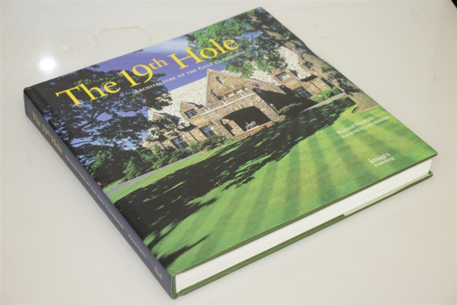 'The 19th Hole - Architecture of the Golf Clubhouse' by Richard Diedrich w/ Fwd by Nicklaus