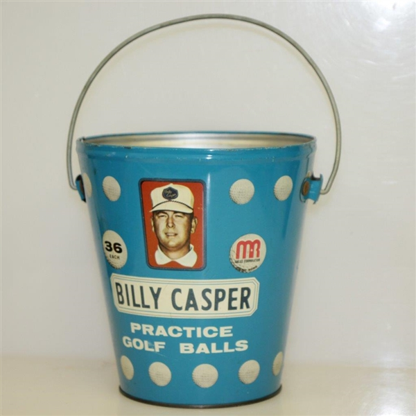 Vintage Billy Casper 'Billy Casper' Practice Bucket