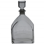 Royal Troon Golf Club Lt Ed 9/10 The Open Champions Collection Glass Decanter