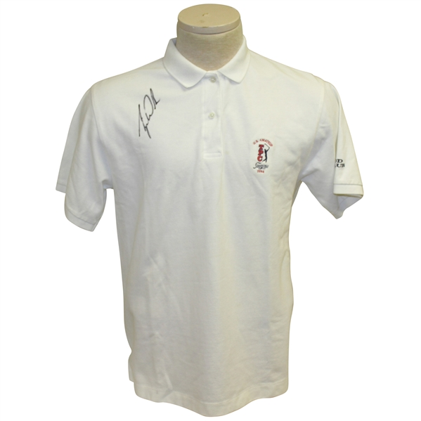 Tiger Woods Signed 1994 US Amateur Shirt - Woods' 1st US Amateur JSA ALOA