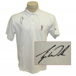 Tiger Woods Signed 1994 US Amateur Shirt - Woods 1st US Amateur JSA ALOA