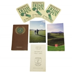 Waterville Golf Links Course Guide, Scorecard, Picture & 1996 Irish Open Coasters
