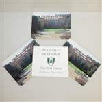 Pine Valley Scorecards Including Short Course by Fazio & Ransome