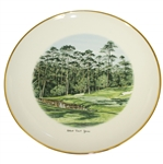 1973 Pebble Beachs Spyglass Hill Golf Course Robert Trent Jones Collection Fine China Plate