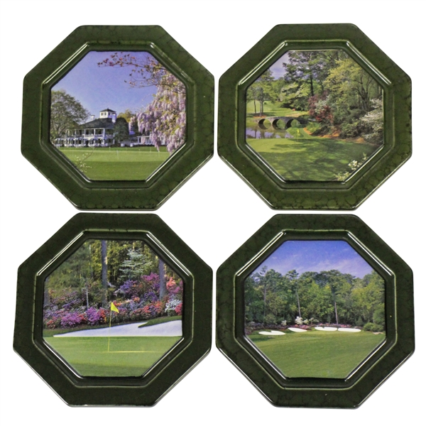 Masters Tournament Coasters - Undated Set Feat Clubhouse & Holes