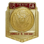Don Cherrys Team USGA Walker Cup Badge - Excellent Condition