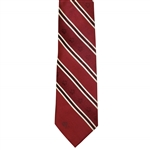 1960 US Open at Cherry Hills CC Red Striped Silk Tie - Palmers 1st US Open Win