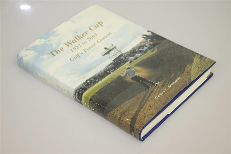 'The Walker Cup 1922-2003 - Golf's Finest Contest' by Gordon G. Simmonds