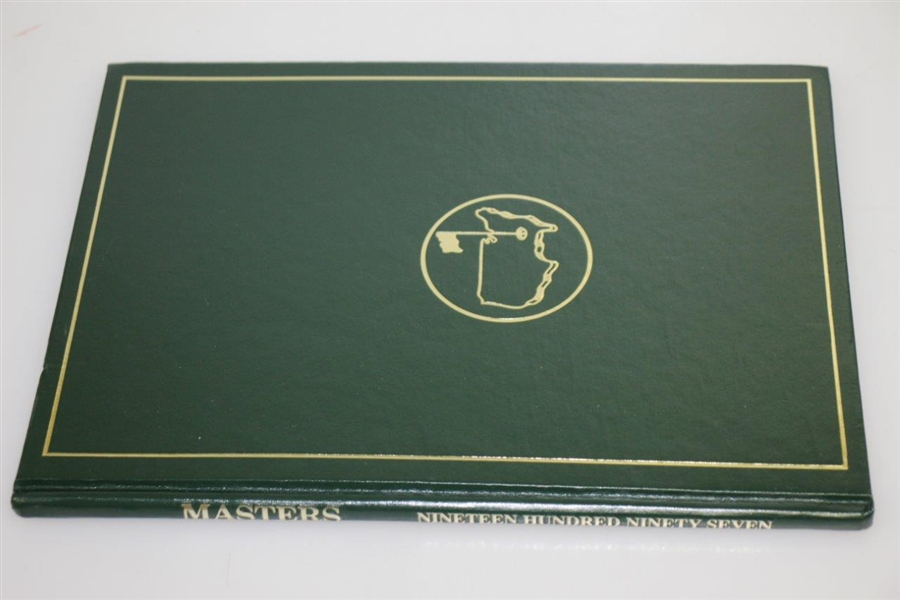 1997 Masters Tournament Annual Book - Tiger Woods First Green Jacket