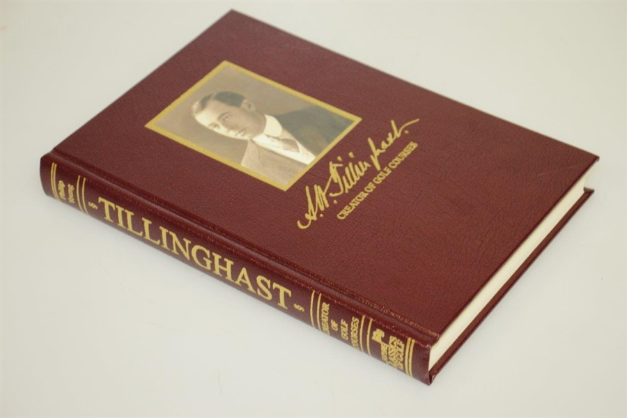 A.W. Tillinghast 'Creator of Golf Courses' Limited Ed Author Signed Book w/ Slipcase