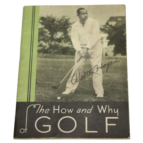 Walter Hagen's 'The How & Why of Golf' Promotional Publication