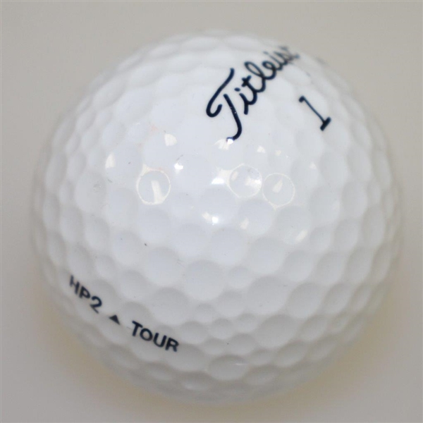 Hubert Green Signed Cherry Hills Logo Golf Ball - Site of PGA Win JSA ALOA