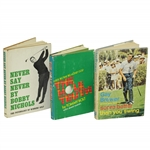 Major Champions Gay Brewer, Tommy Bolt & Bobby Nichols Signed Biographies JSA ALOA