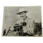 Byron Nelson Wire Photo from Height of Career - 4/11/1942