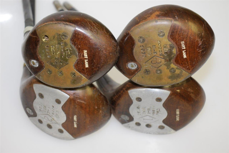 East Lake Golf Club Set of Woods Heads 1-4 by H & B - Louisville Grand Slam