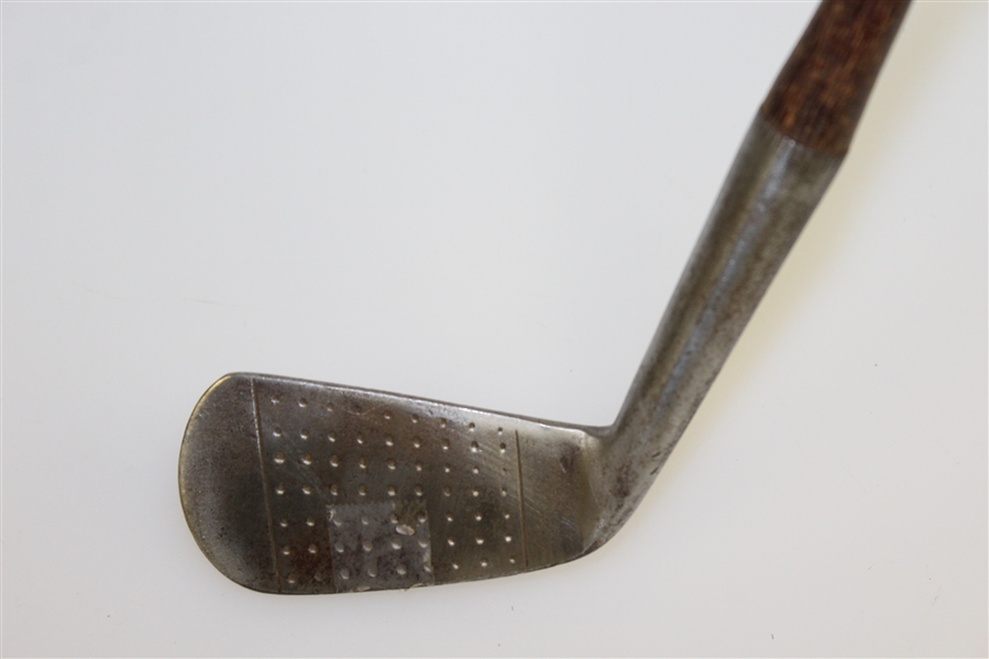 Harry Malpass Pro Detroit Golf Club Lion & Cape Fear CC Stamped Hand Forged Driving Iron