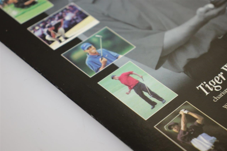 Tiger Woods Topps Genuine Issue Photo Collection of 6 - 1st Authorized of 1997 Masters