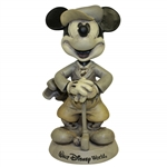 Mickey Mouse Walt Disney World Golf Themed Bobble head Sculpture