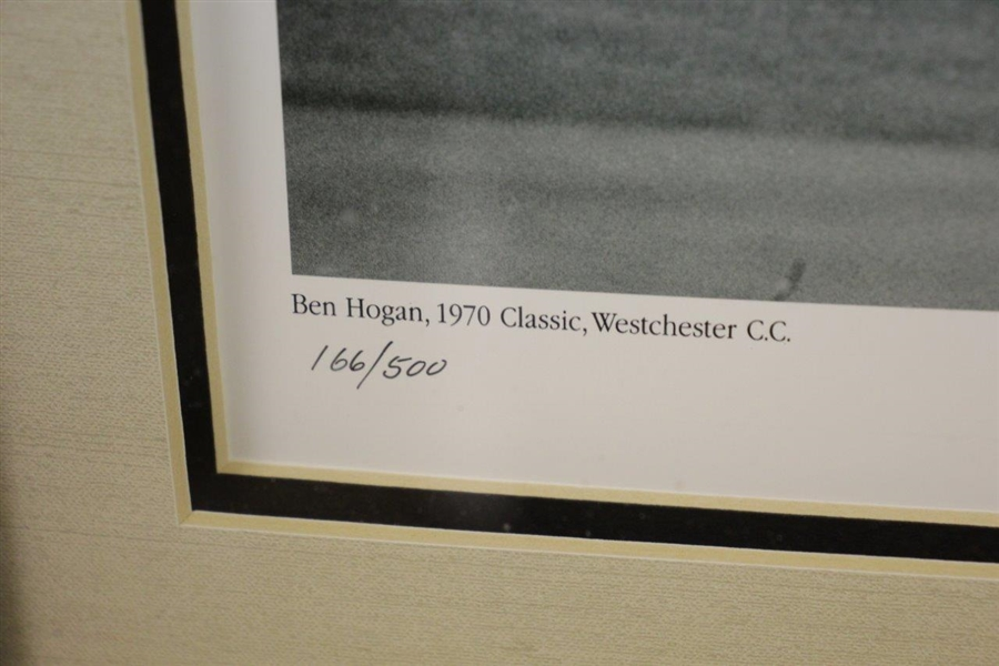 Ben Hogan Signed 'Hogan 392LS' Logo Ball Presentation w/ Jules Alexander Photo FULL JSA #BB32335