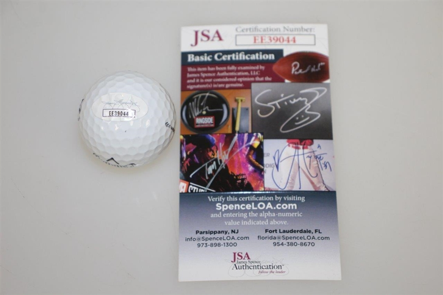 Shane Lowry Signed 2019 Open Championship at Royal Portrush Logo Ball JSA #EE39044