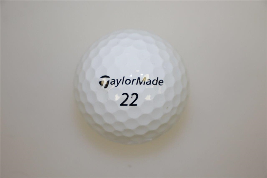 Rory McIlroy Personal RORS 2019 The Players Used TaylorMade 22 Golf Ball